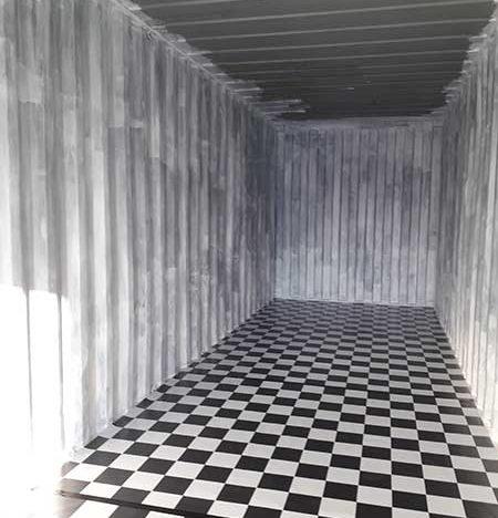 Mietcontainer als Lagerraum