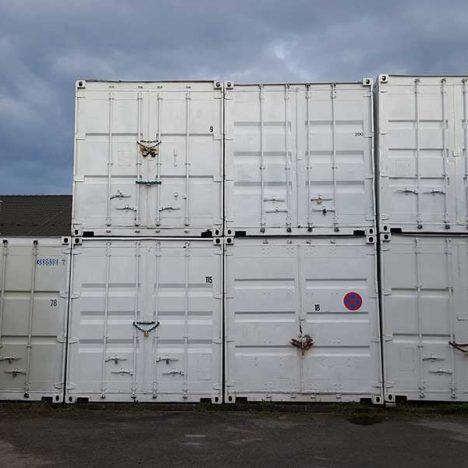 Container als Lager sind genial, denn …